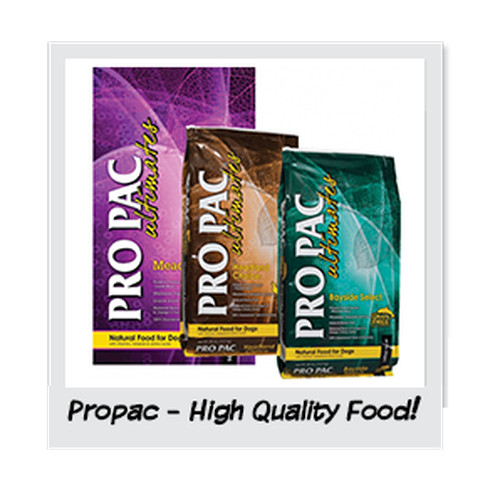 Propac Food - the only one we serve!